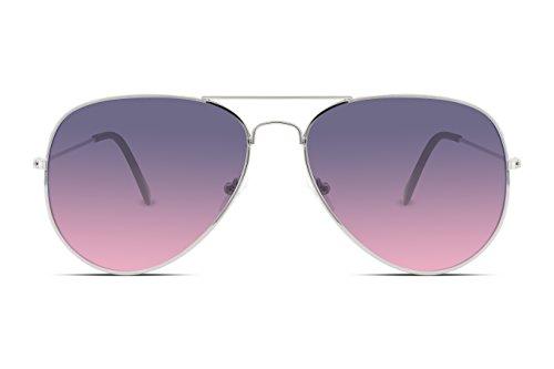 802d01a671f9b FEISEDY Retro Aviator Sunglasses Gradient Lens Men Women Brand Sunglasses  B1100 10 Purplepink - equinedesigned.com