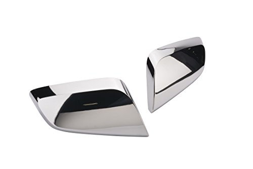 (GM Accessories 22965102 Outside Rearview Mirror Covers in Chrome)