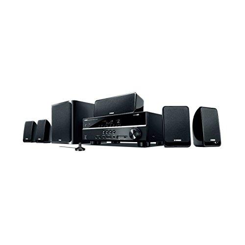 Home Theater Yamaha YHT-2910BL Bivolt 600W Preto Áudio HD 4K AM/FM 5.1 Canais
