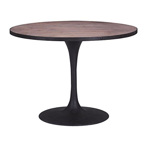 Modern Desk Zuo Modern (Zuo Scotts Bluff Dining Table, Distressed Natural)