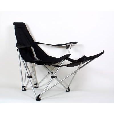 Relags Travelchair 'Sunchair' Chaise Mixte, Noir, Taille Unique