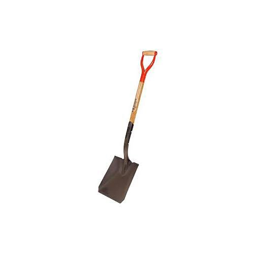 A.M. Leonard Square Point Closed Back Shovel with D-Grip Handle - 30 Inches by A.M. Leonard