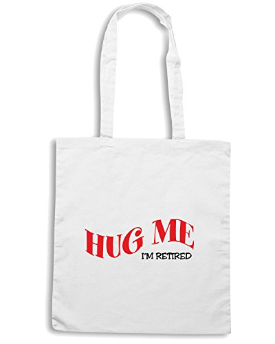 T-Shirtshock - Bolsa para la compra OLDENG00116 hug me Blanco