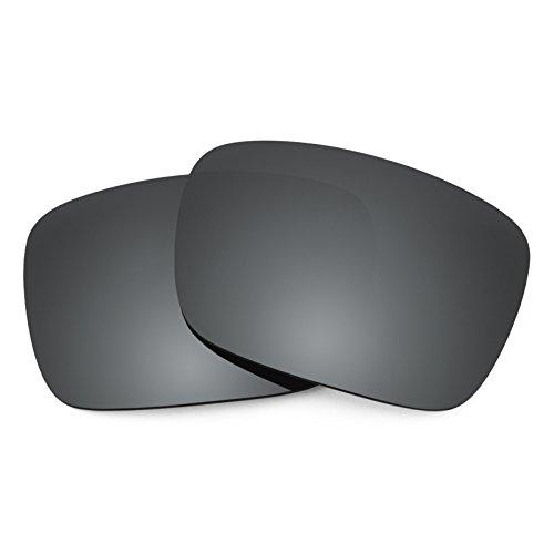 Verres de rechange pour Von Zipper Elmore — Plusieurs options Noir Chrome MirrorShield® - Polarisés