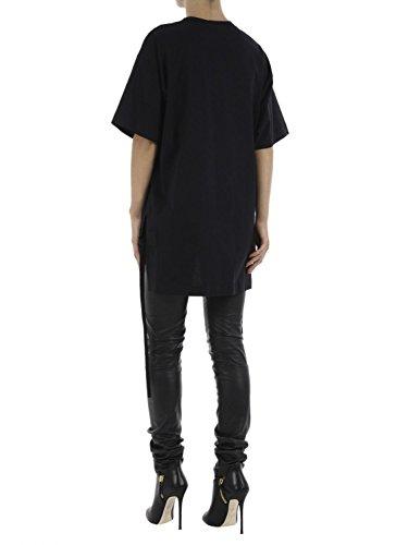 N°21 Mujer F06241529000 Negro Algodon T-Shirt