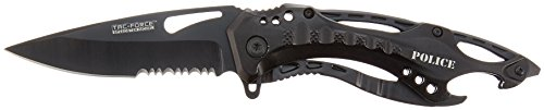TAC-Force-TF-705-Series-Assisted-Opening-Tactical-Folding-Knife-Half-Serrated-Blade-4-12-Inch-Closed