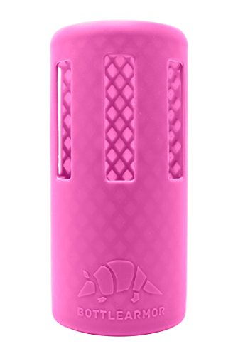 (BottleArmor Protective Silicone Sleeve for Hydro Flask Water Bottles with DropShield Technology (Tulip, 32 oz))