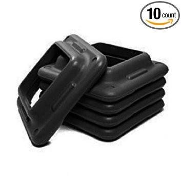(10 Pack) Aerobic Club Step Extra Riser- Black (Gym 10 Pack) by Element