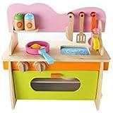Easy Raku®ままごと キッチンセット 子ども 知育玩具 キッズ 台所 玩具 プレゼント