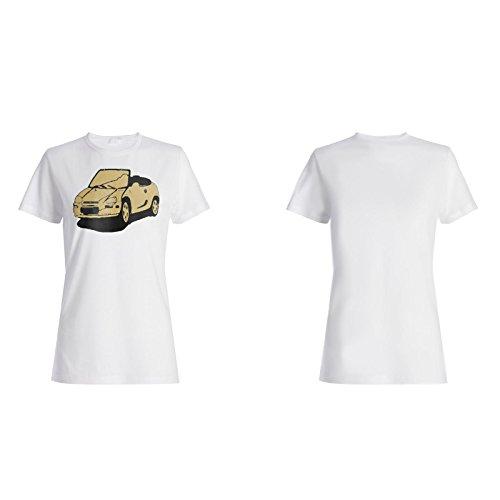 Retro Auto Weinlese neues lustiges Geschenk Damen T-shirt f670f