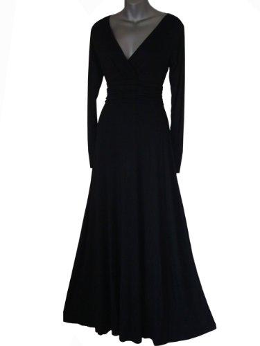 Cocktail Femme gt; de 50 Sarcelle soire robe Taille Maxi Robe Bleu 36 Vert Bordeaux longues Noir ROBE Longue manches de Rouge Pourpre 6ndROxOqHg
