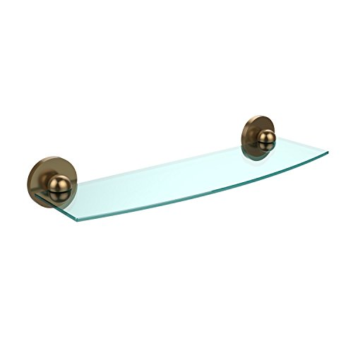 Review Allied Brass P1033/18-VB Triple Corner Glass Shelf Polished Chrome By Allied Brass by Allied Brass
