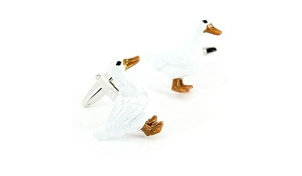 Gemelos, el ganso blanco - blanco - de la firma de la avenida ...
