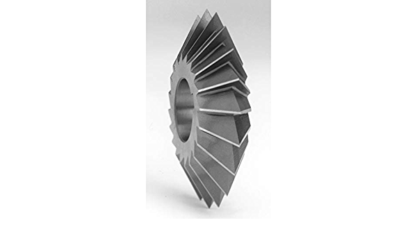 Super Tool 85602 HSS USA Made 5//16 Wide 60/° Double Angle Cutter 1 Diameter