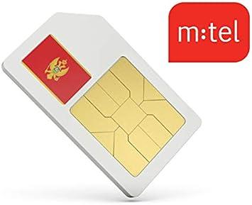 Mysim Carte Sim Data Montenegro Prepayee Avec 4 Go De Donnees En
