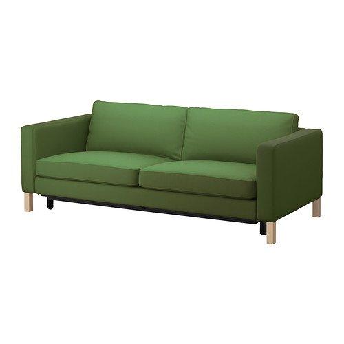 IKEA KARLSTAD - cubierta sofá-cama de tres plazas, Sivik ...