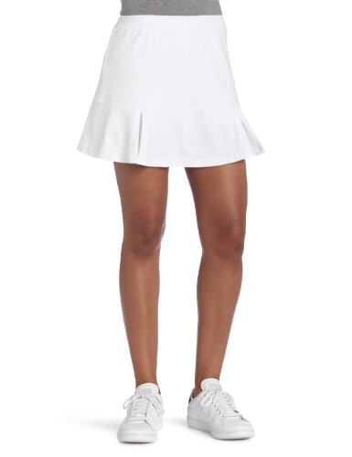 Bollé Women's Essential Godet Tennis Skirt, White, (Bolle Fashion Tennis Skirt)