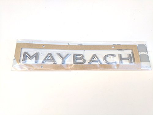 Mercedes Benz Trunk Maybach Emblem for W222 S Class 2228173300 ()