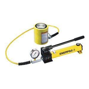 4. Enerpac Pump/Low Height Cylinder Set, 20 Ton Cap
