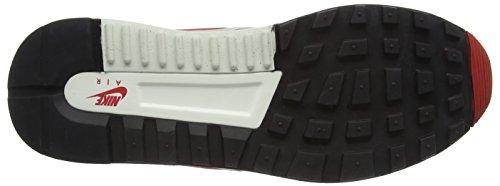 Nike Air Odyssey, Zapatillas de Running para Hombre, Weiß, M Varios colores (Blanco / Rojo / Gris (White / Unvrsty Red-Ntrl Gry-Sl))