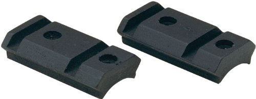 Blackpowder Products Weaver Style Durasight Z-2 Alloy 2-Piece Scope Bases for Muzzleloaders, Black
