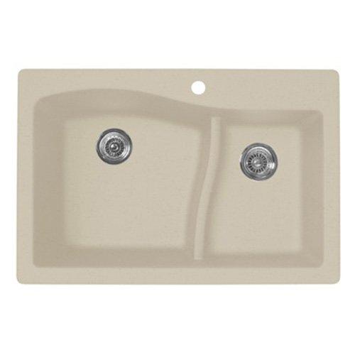 Swanstone QZLS-3322.076 Drop-In Granite Kitchen Sink - Uncle ...