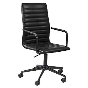 Marque Amazon – Movian Dubna – Chaise de bureau, 58 x 45 x 103 cm, Noir