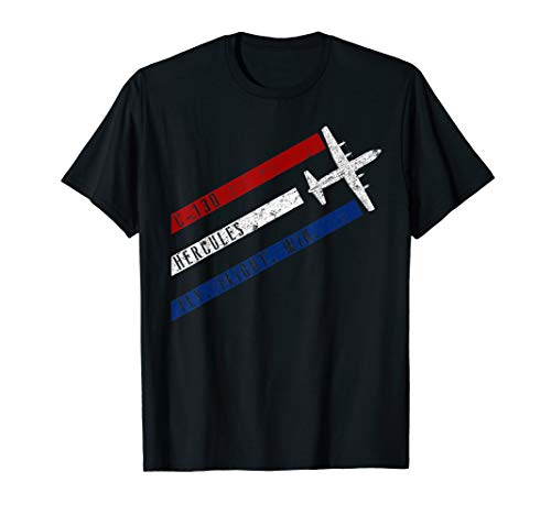 C-130 Hercules Fly. Fight. Win. Patriotic Airplane T-Shirt