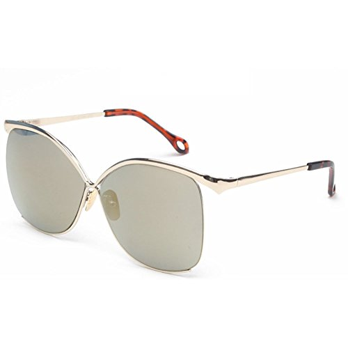 Sinkfish SG80055 Sunglasses for Women,Anti-UV & Fashion - UV400/Bisque Frames/Gainsboro - Ice Berlin Sunglasses