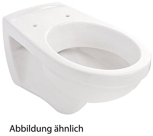 Wand-WC | Tiefspüler | Weiß | WandWC | Toilette | Hänge-WC | Klo | Bad | Badezimmer | Gäste-WC | Keramik