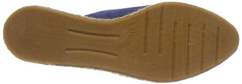 gråbrun Loafers Brun kobolt Blå 8065 Tøffel Fred De La Bretoniere Kvinners qw0R7U