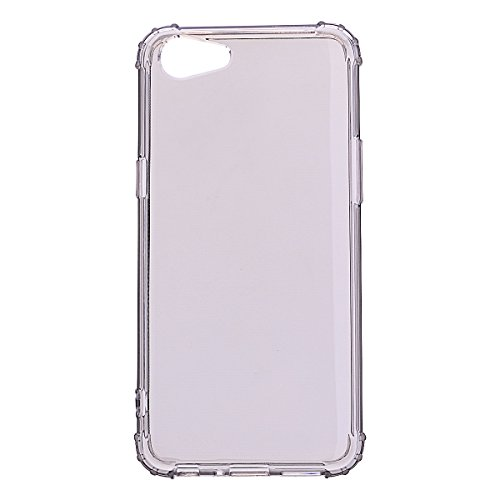 wholesale dealer b6433 b06a2 Yhuisen Cases, OPPO A83 Case,Genuine Quality Shockproof Transparent TPU  Soft Back Case for OPPO A83 (5.7 inch) (Color : Gray)