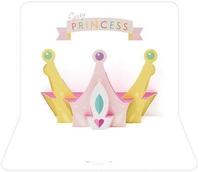 The Art File Cartolina pop-up corona #PP61 principessa per il giorno