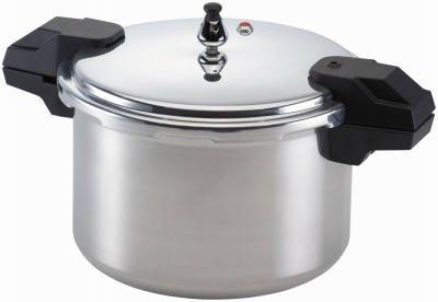 Mirro Polished Aluminum Dishwasher Safe Pressure Cooker Cookware