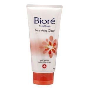 Price comparison product image New Biore Facial Foam Pure Acne New Clear : 100g