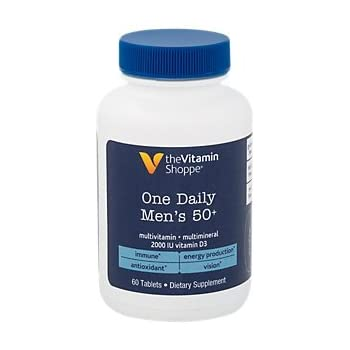 Amazon Com The Vitamin Shoppe One Daily Men S 50
