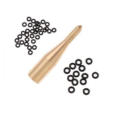 Dart Shaft 2BA Rubber O Ring/Washers with Applicator Tool Dart Accessories