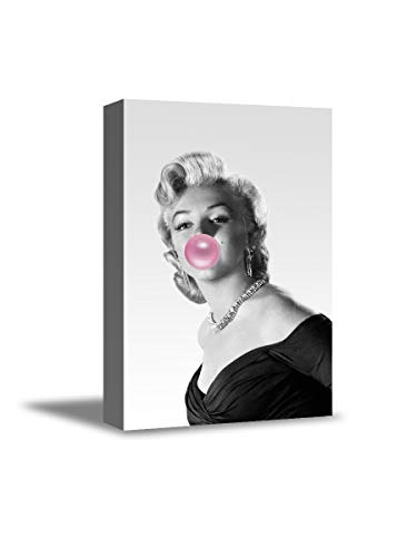 Bubble Gum Marilyn Monroe Wall Decor Bubble Gum Art Modern Wall Art Marilyn Monroe Canvas Poster Marilyn Monroe Funny Bubble 4 8