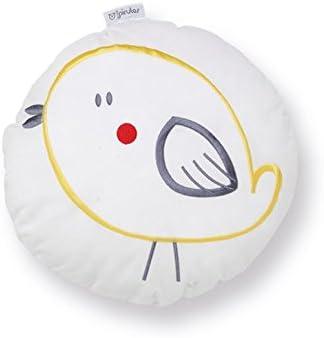 Pirulos 79113420 - Cojín formas be happy, color blanco y ...