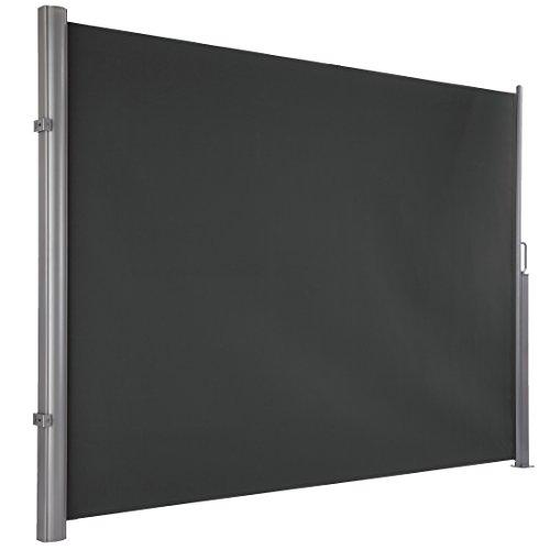Ultranatura Maui Seitenmarkise, grau, 300 x 180 cm