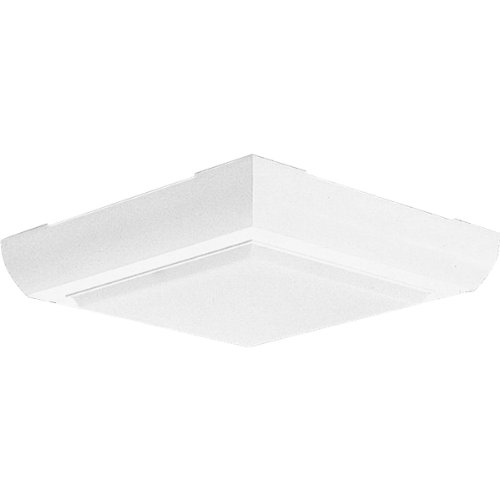 Progress Lighting P7118-30 Impact Resistant Polycarbonate Frame with Polycarbonate Diffuser, White