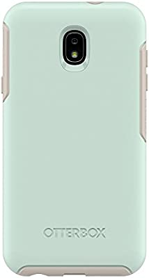 OtterBox Symmetry Series Case for Samsung Galaxy J7 2nd gen/J7 V 2nd gen/J7 Refine - Retail Packaging - Muted Waters (SURF Spray/Silver Lining)