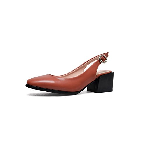BalaMasa Womens Dress Cold Lining Non-Marking Urethane Sandals ASL05113 Sorrel yNFVSGSqW
