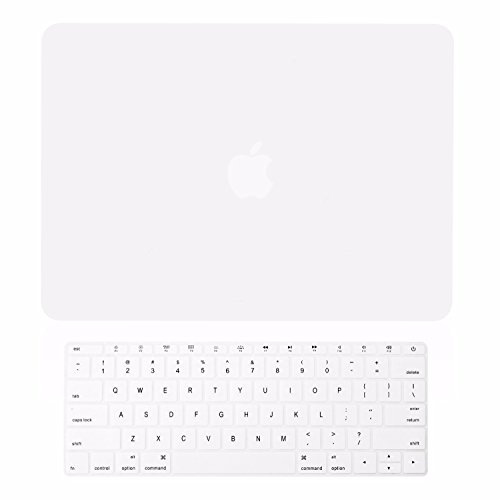 - TOP CASE - 2 in 1 Bundle Deal Rubberized Hard Shell Case Cover and Keyboard Cover Compatible with Apple MacBook 12-Inch 12
