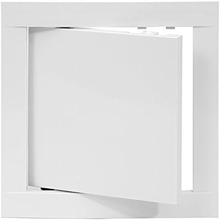 Revisionsklappe Revisionstür Wartungsklappe  Stahlblech Weiss 500x250 mm