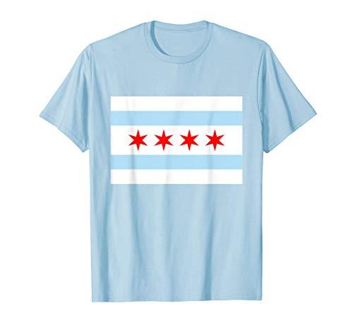 Chicago City Flag | City of Chicago Pride T-shirt