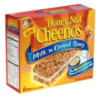 Case of General Mills Honey Nut Cheerios Milk 'n Cereal Bars (10 Total)