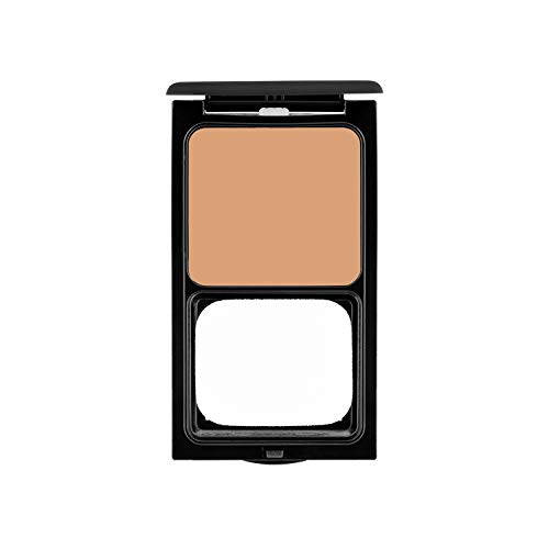Cream to Powder Foundation Compact by Sacha Cosmetics, Best Natural Matte Makeup to give Flawless Looking Skin, Medium to Full Coverage, Normal to Oily Skin, 0.45 oz, Perfect Tan (Best Compact Powder For Normal Skin)