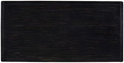 Jacinto Craftsman Bar Table Wire Brushed Black