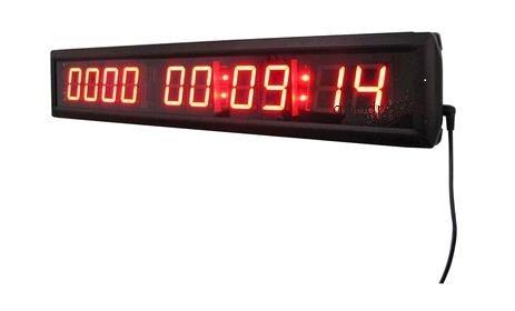 goodreliish gran día cuenta atrás reloj de pared Digital LED de color rojo 1,8